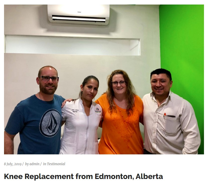 Knee Replacement from Edmonton